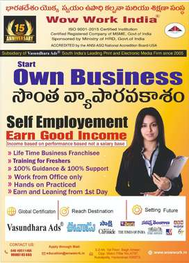 We are hiring for self employee