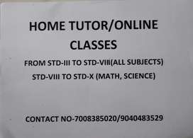 Home Tutor for CBSE Students