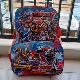 Tas ransel anak transformers