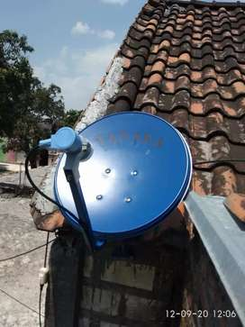 Parabola mini manyar, antena tv bebas tagihan