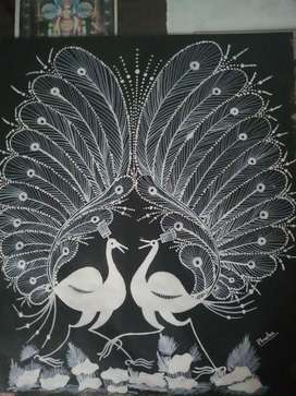 Zentangle painting