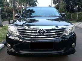 Toyota Fortuner 2013 G Bensin 2.7 A/T Kilometer 56rb Record