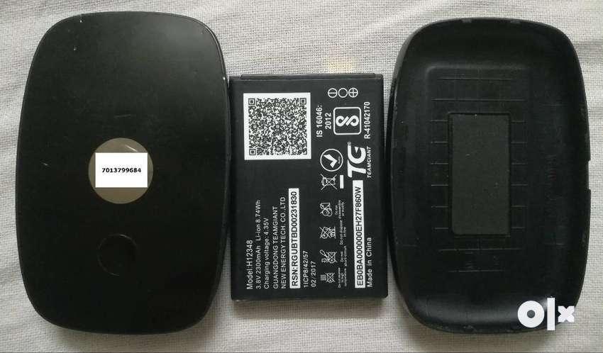 mifi Hotspot wifi internet router. 2300mAh battery. Voice call wit app 0