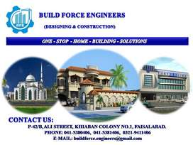 BUILD FORCE ENGINEERS - Designing & Construction Services