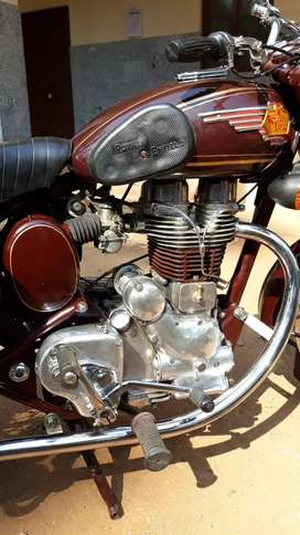 Vintage Royal Enfield old with G2 heavy crank in it
