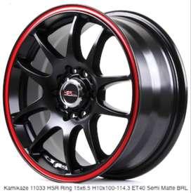 Cash/Kredit Velg Mobil Lubang5 Dobel Pcd - Hsr Wheel