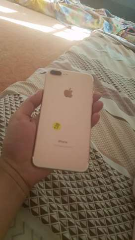 Apple iPhone 7 plus 128gb 10/10 mint condition 2days check warranty