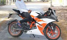 Ktm Rc 200  new condition