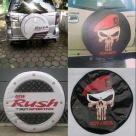 Cover/Sarung Ban Daihatsu Terios/Rush/Vitara/Rocky/CR-V SELAMAT PAGI B