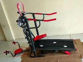 Ready treadmill manual TL 004 manual incline 6 fungsi