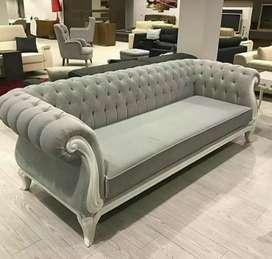 Chesterfield sofa 3seater duco klasik elegan kode C12