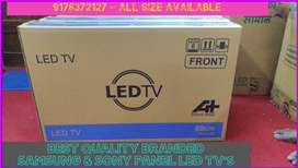1 Year Replacement Warranty - 32inch SMART Samsung panel LED TV's