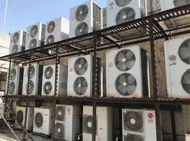 5 ton ductable ac available,very rare used,good condtion,scroll compre