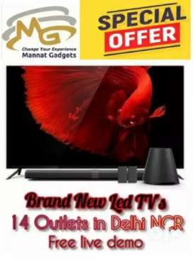 32 Inch 4k smart android led TV + Brand New __ Bumper offer__