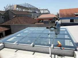 Jasa pemasangan baru atau service kaca dan aluminium