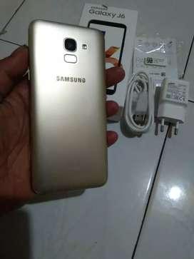 Samsung J6 3/32G 4G fulset ory mulpis segel