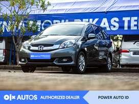 [OLX Autos] Honda Mobilio 2017 E 1.5 Bensin A/T Abu-Abu #Power Auto ID