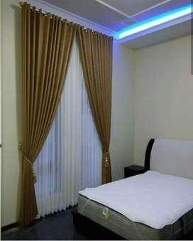 Desain gorden gordyn curtain ruangan berkualitas