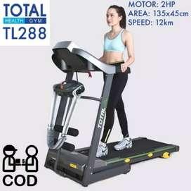 New Treadmill Elektrik TOTAL Fitness TL-288