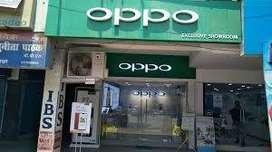 oppo showroom urgent hiring