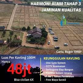 Tanah dijual murah bisa dicicil 6x