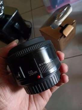 YongNuo lensa 50mm gen.1 for canon