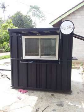 kredit 6ln franchise es kopi promo booth container CUMA HARI INI