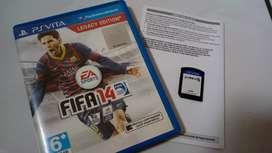 Kaset PS VITA FIFA14 Fullset Ori