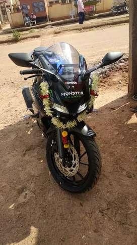 YAMAHA YZF R15 V3..15 days f bike
