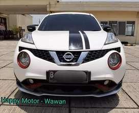 Nissan Juke 1.5 RX Revolt Matic 2015  Km 71rb Pakaian Pribadi