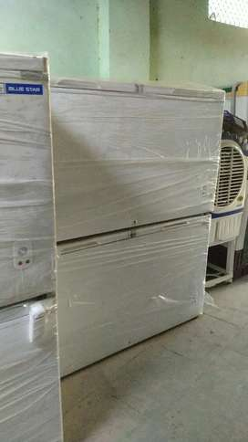 Blue Star deep freezer 400 litre new company damage