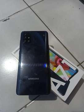 Samsung a71 8/128gb fulset