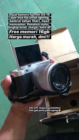 Fujifilm mirrorles X-A10