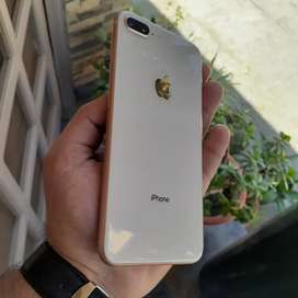Iphone 8 plus gold (256gb) pta approved