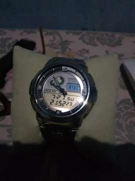 Casio aqf 102w thermometer suhu