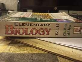 TRUEMAN'S ELEMENTARY BIOLOGY VOLUME 1 &2