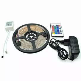 Lampu LED Strip 3528 300 LED 5 Meter with 12V 2A Light Controller