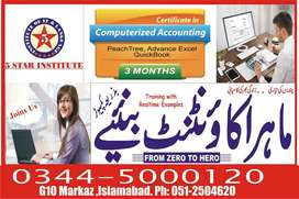QuickBook Accounting Software Training with 5 STAR INSTITUTE G-10 Mark