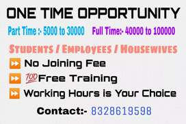 Opportunity to earn part time income
