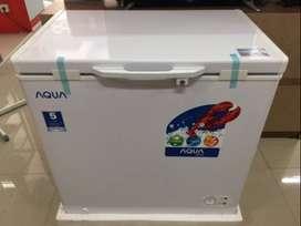 Freezer Box 150L Sanyo / Aqua AQF-160W sebesar Polytron PCF 215 / 216