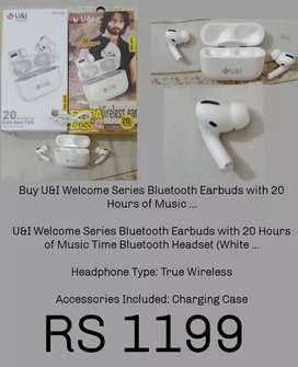 U& I earbuds welcome series