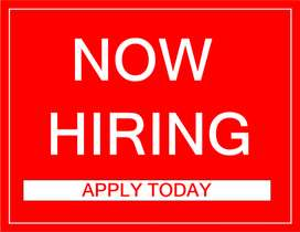 Female Receptionist required for new company.