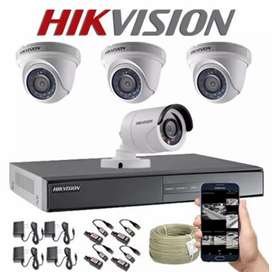 Pemasangan camera CCTV online di pasar rebo jakarta timur