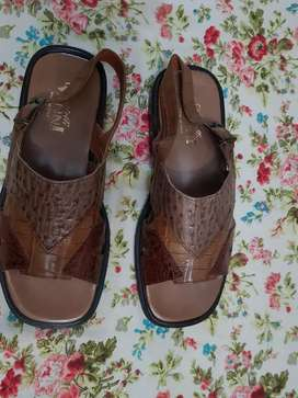 Original crocodile skin shoes