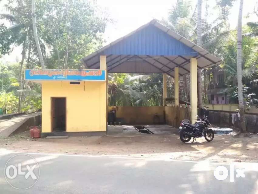 Fully equipped service station for rent near haripad. 0