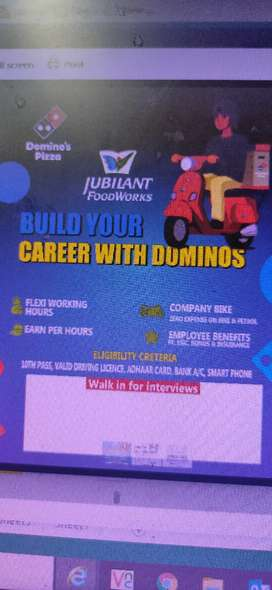 Build your career with domino's pizza