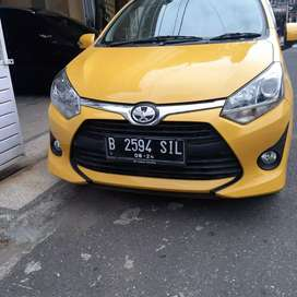 Toyota agya 1.2 G hatchback manual. 2019