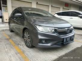 Honda City E RS AT 2017 Abu-abu KM 20ribuan