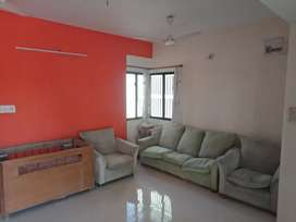 Pent house semi furnished 2 bhk for rent.
