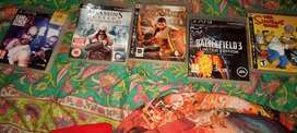 Ps3 CD's Good collection great tittle